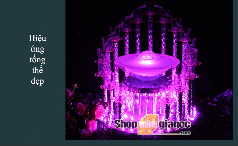 Tháp Ly Champagne VDTL08