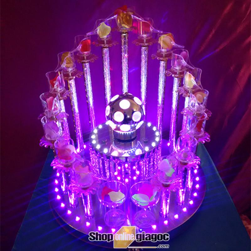 Tháp Ly Champagne VDTL09 - shoponlinegiagoc