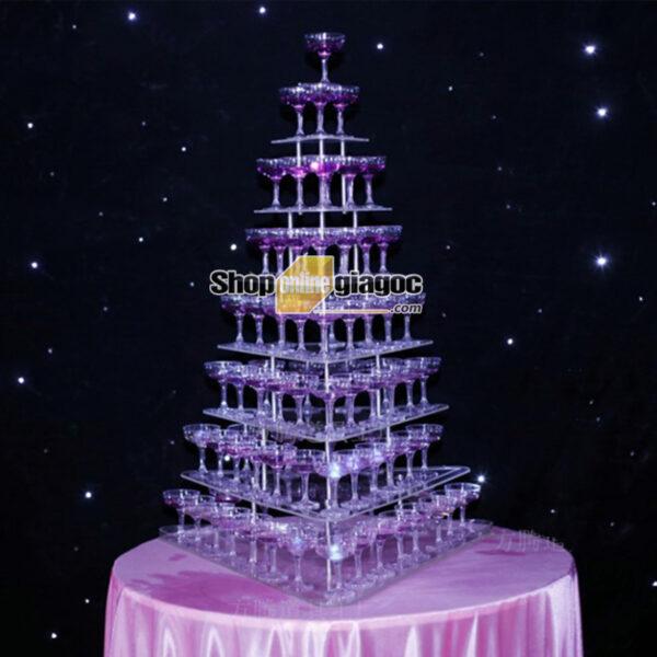 Tháp Ly Champagne VDTL10