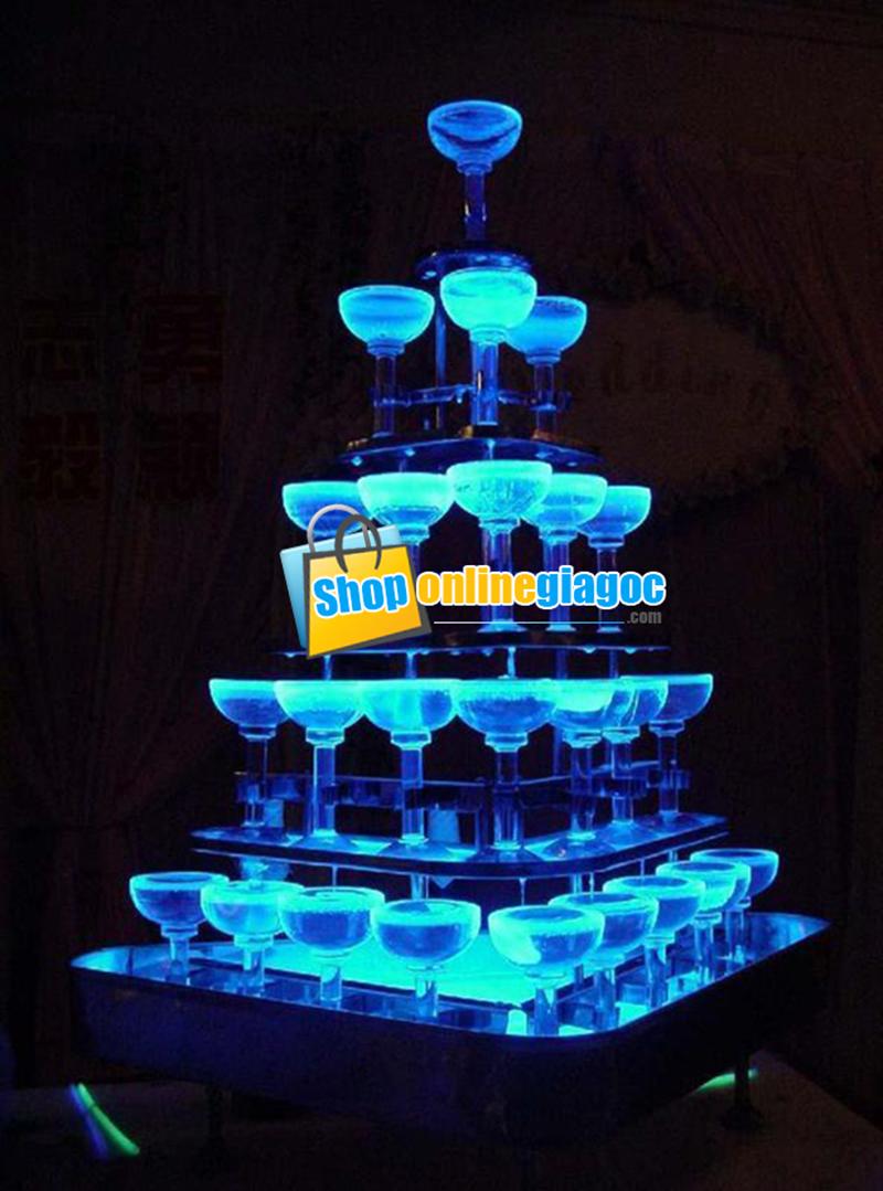 Đèn Thả Ly Champange
