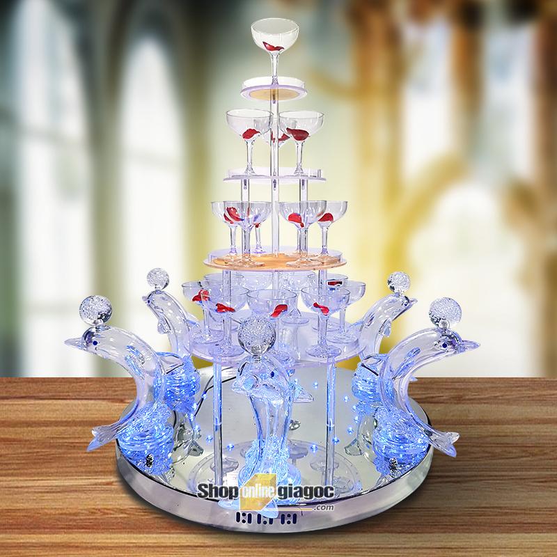 Tháp Ly Champagne VDTL14RP - shoponlinegiagoc