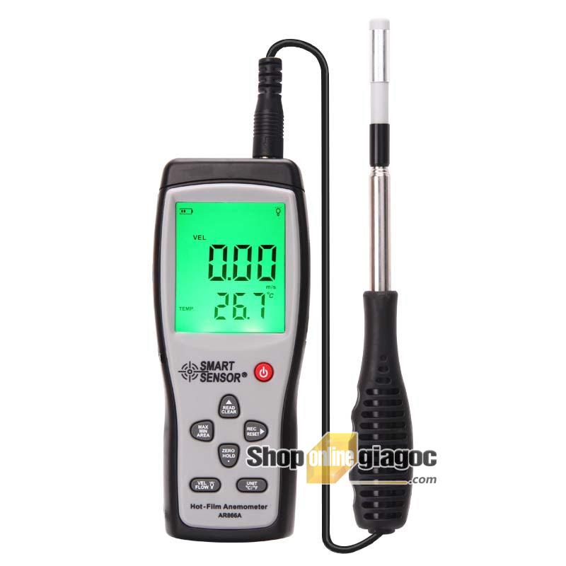 Máy đo tốc độ gió AR866A