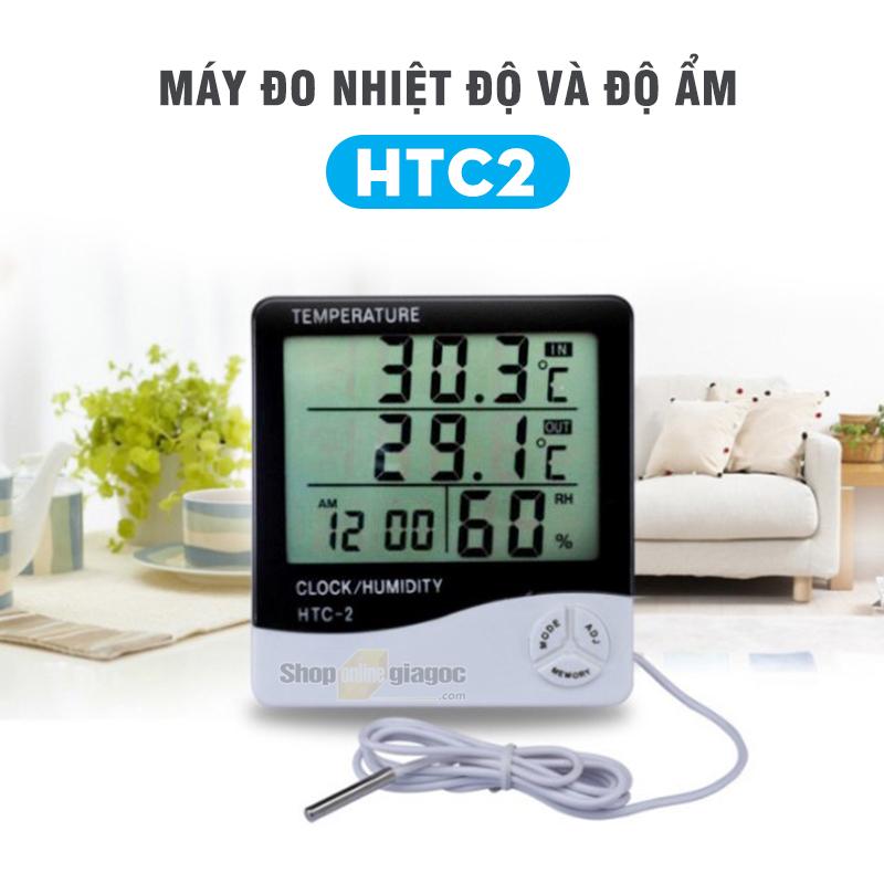Máyđo nhiệt độ và độ ẩmHTC2