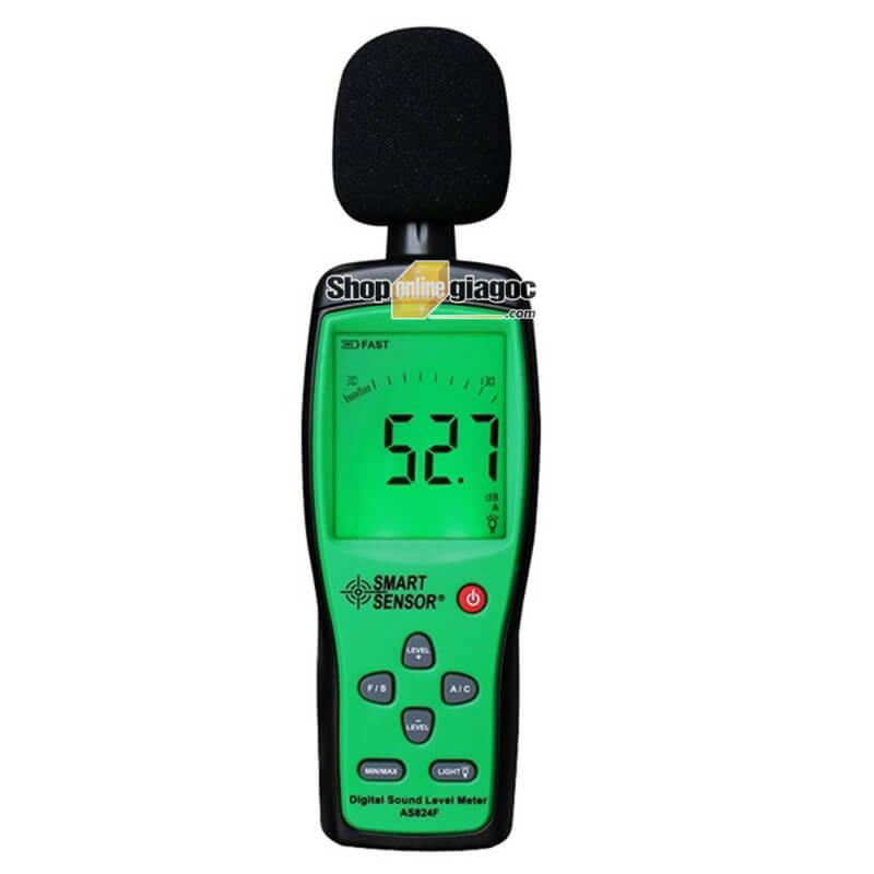 Máy Đo Độ Ồn Âm Thanh Smart Sensor AS824/AS824F