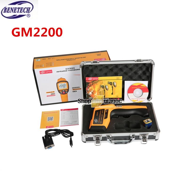 Máy đo nhiệt độ hồng ngoại GM2200