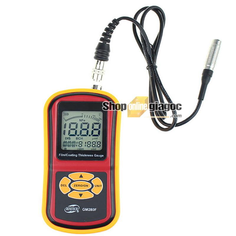 Máy đo độ dày kim loại từ tính Benetech GM280F