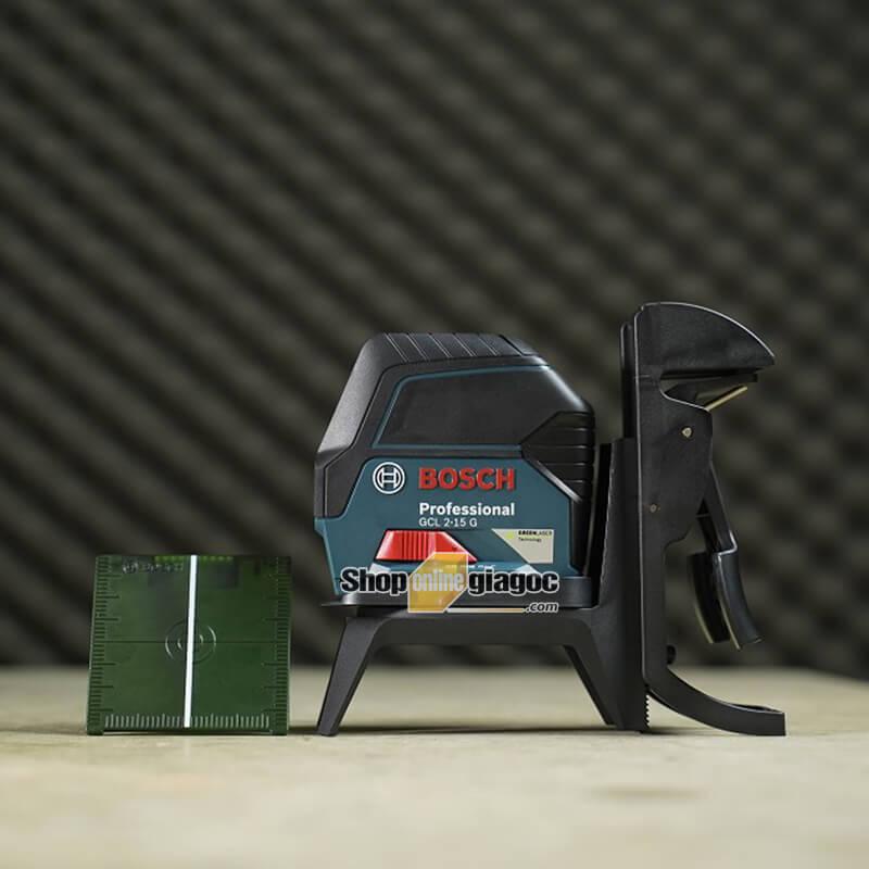 Máy Cân Mực Laser Bosch GCL 2-15 G Tia Xanh