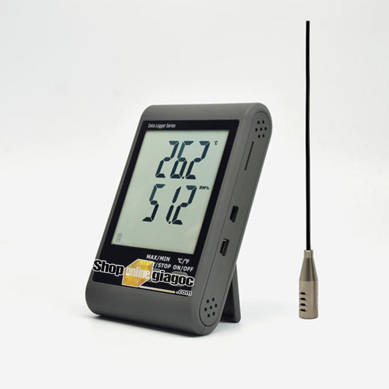 Nhiệt Ẩm Kế Tự Ghi GSM20 Đã Hiệu Chuẩn Theo TT02/ BYT