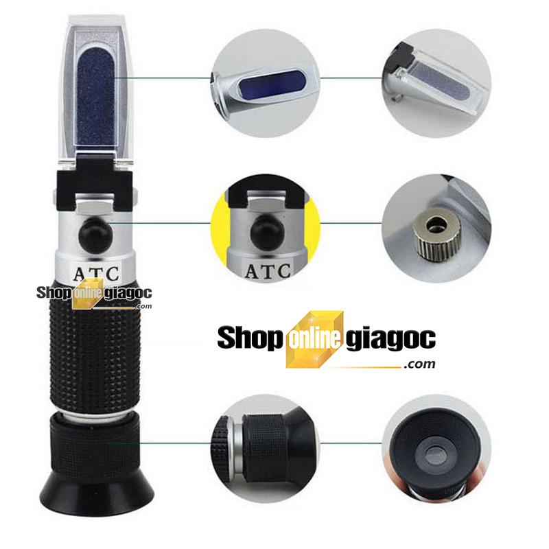 Khúc Xạ Kế Đo Độ Mặn Dung dịch ATC212 (0-100%)