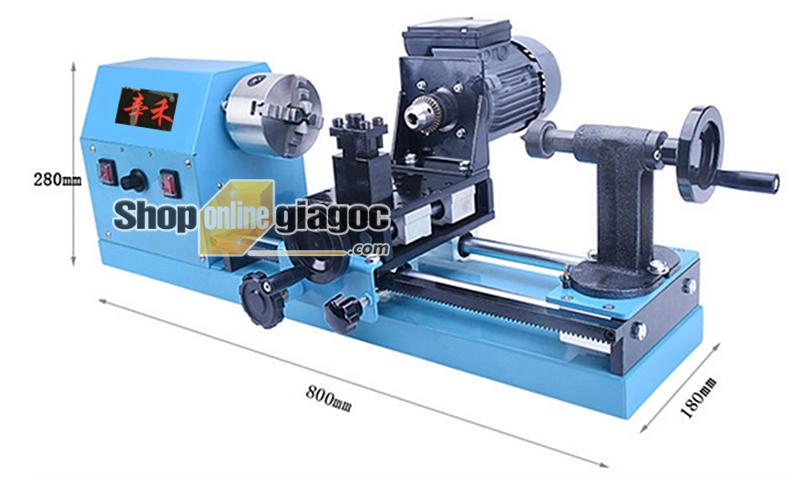 máy tiện hạt gỗ