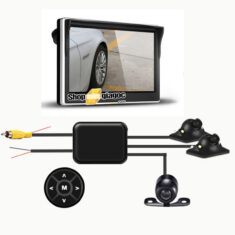 Bộ camera ô tô 360 độ (trước, trái, phải)