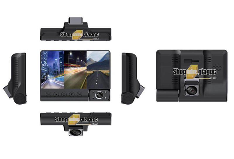 Camera Hành Trình 3 Trong 1 Quan Sát Tổng Thể Xe XP1