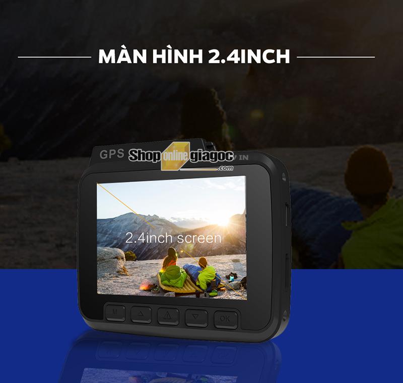 Camera Hành Trình GS63H 4k Wifi Có GPS Hiển Thị Tốc Độ
