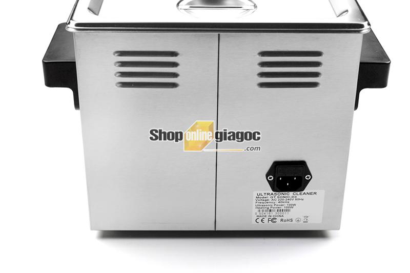 Bể Rửa Siêu Âm GT SONIC-D3 - shoponlinegiagoc