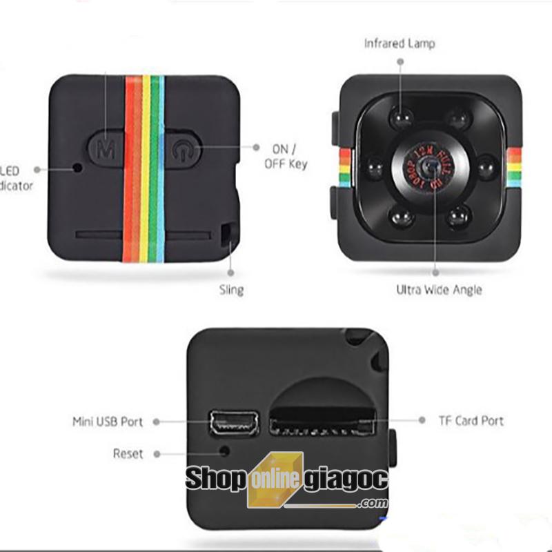 Camera Ngụy Trang Siêu Nhỏ FHD SQ11 - shoponlinegiagoc