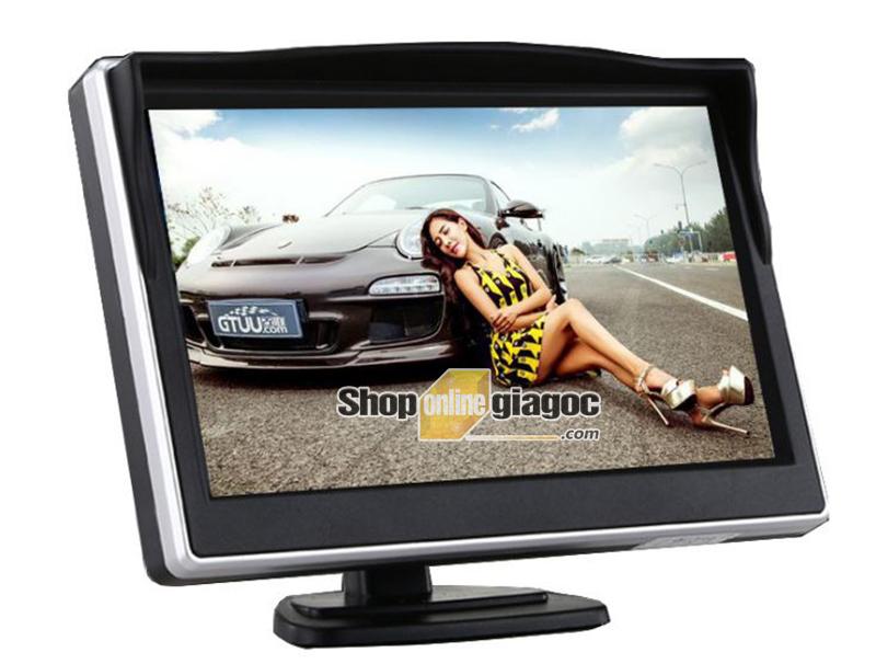 Màn Hình LCD Ô Tô 5 Inch HD 2 Cổng AV (Loại Đứng)