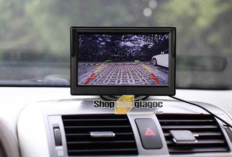 Màn Hình LCD Ô Tô 5in 480*272P 2 Cổng AV (Loại Đứng)