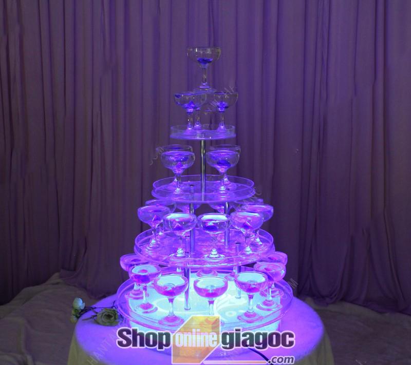 Tháp Ly Champagne XB087