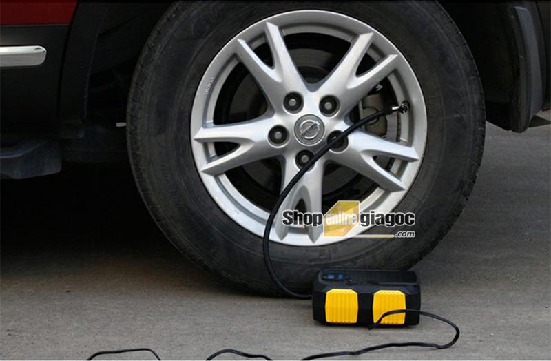 Bơm ô tô mini tự động ngắt YOELBAER 22k D