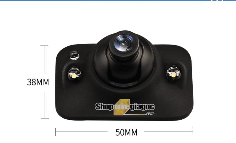 Combo Camera Ô Tô Cập Lề + Màn hình 4.3inch 480*272P
