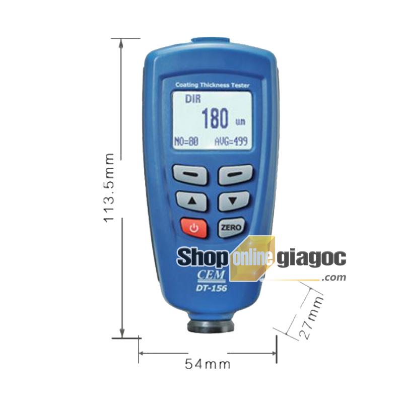 Máy đo độ dày lớp phủ DT-156