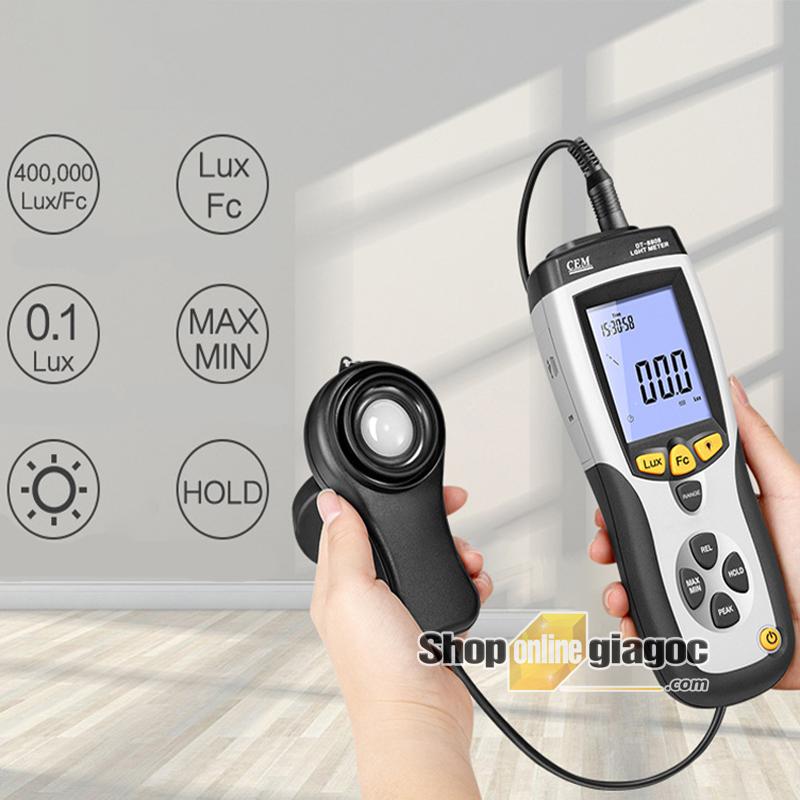 Máy đo cường độ ánh sáng DT-8808