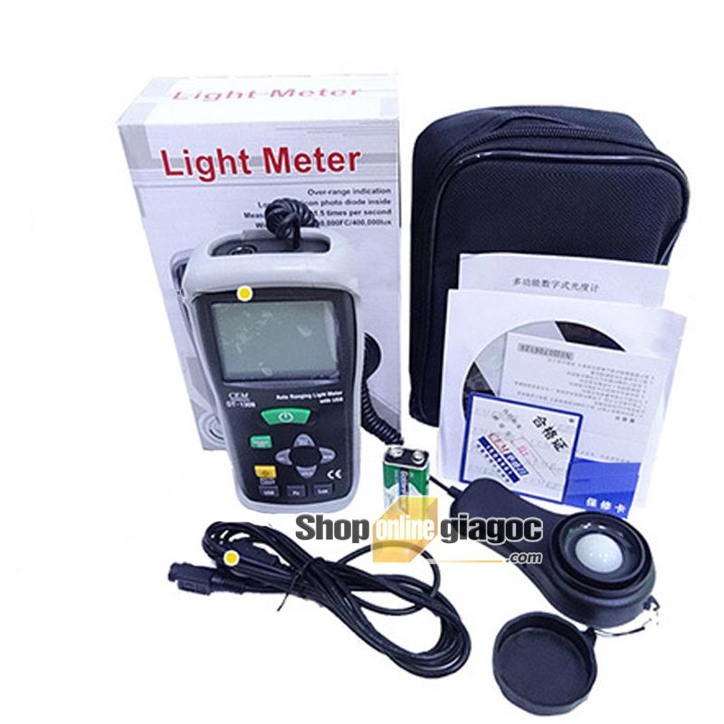Máy đo cường độ ánh sáng DT-1309