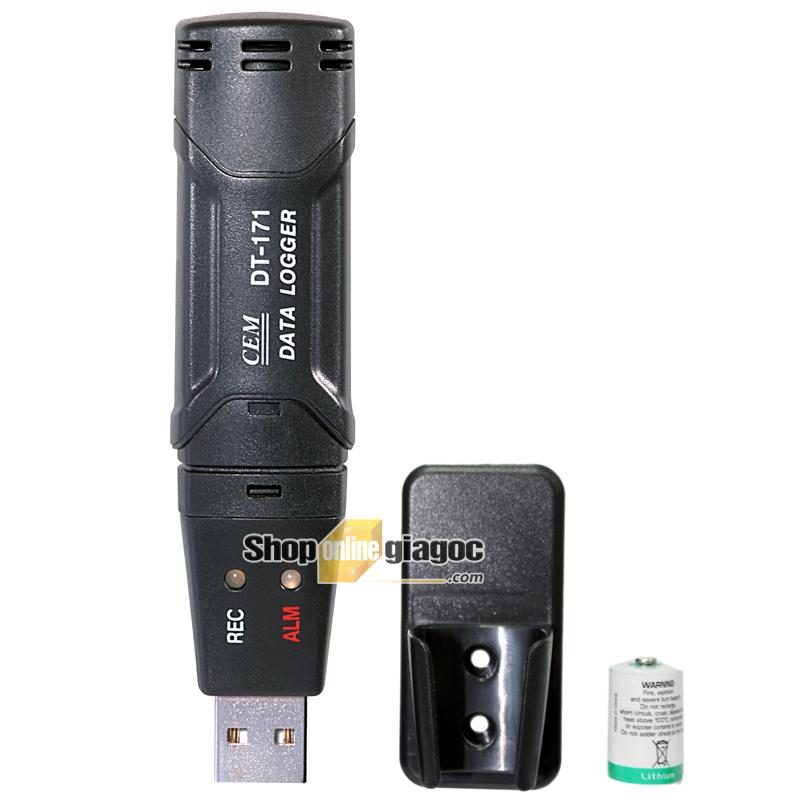 Máy đo nhiệt độ và độ ẩm CEM DT-171
