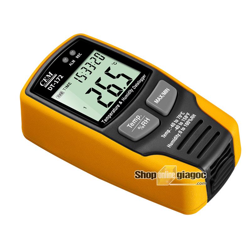 Máy đo nhiệt độ và độ ẩm CEM DT-172