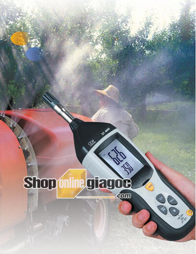 Máy đo nhiệt độ và độ ẩm CEM DT-8892