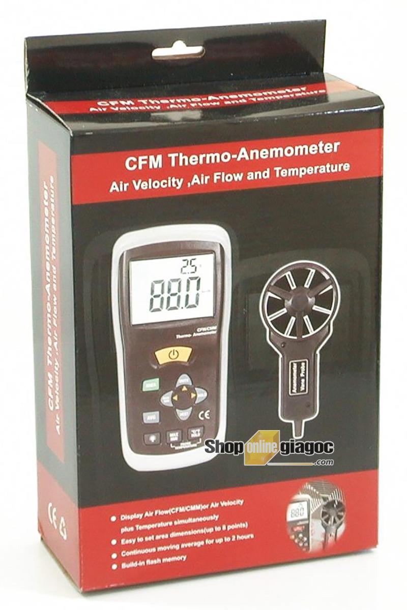 Máy đo tốc độ gió CEM DT-619