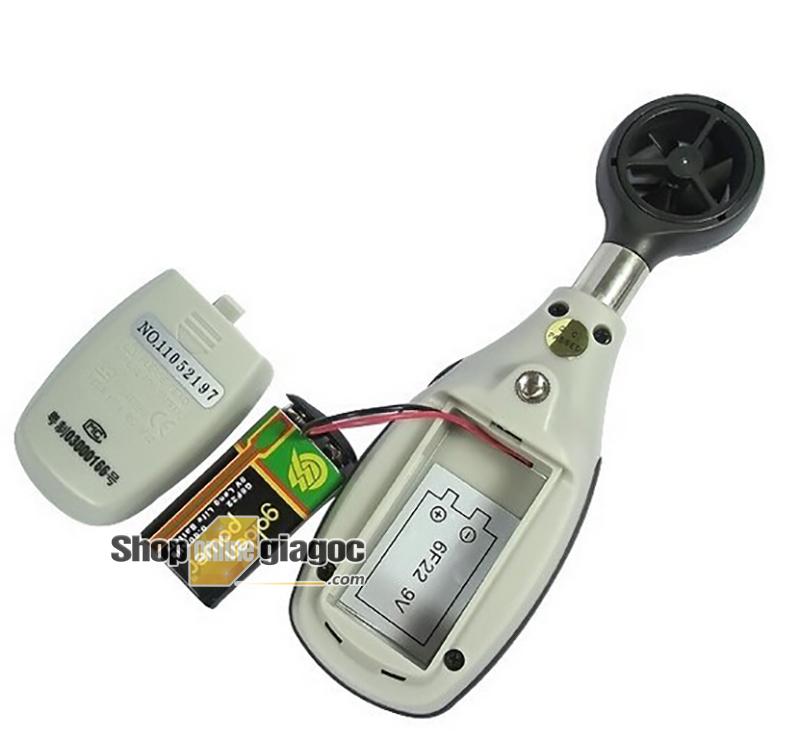 Máy đo tốc độ gió CEM Mini DT-82