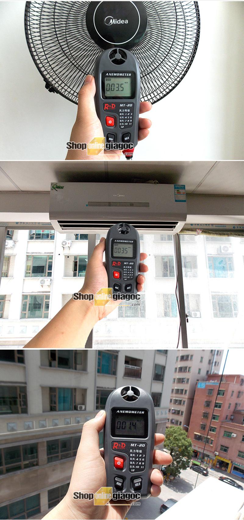 Máy đo tốc độ gió MT-20