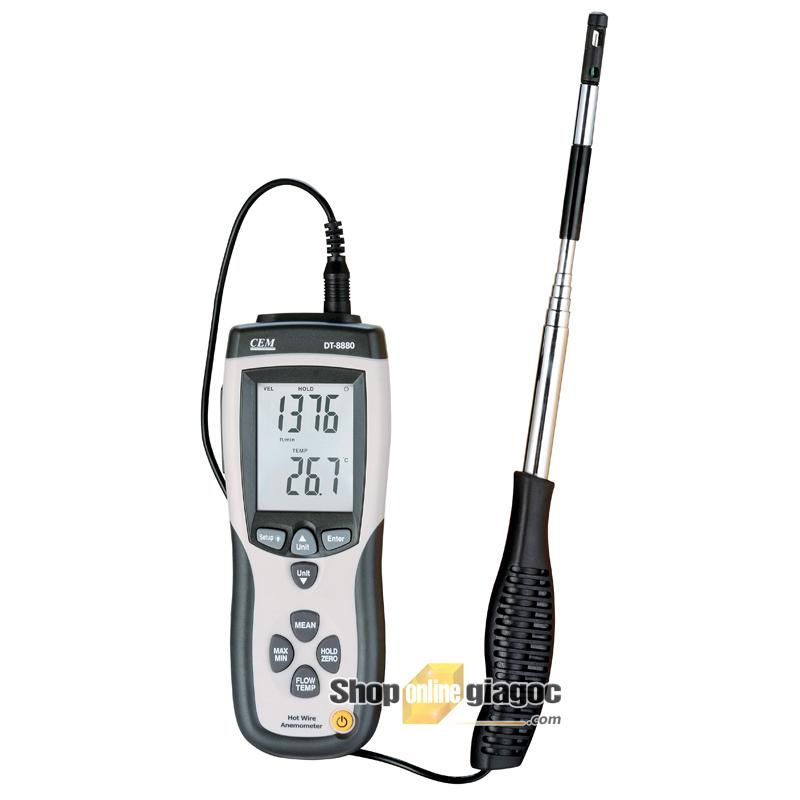 Máy đo tốc độ gió CEM DT-8880