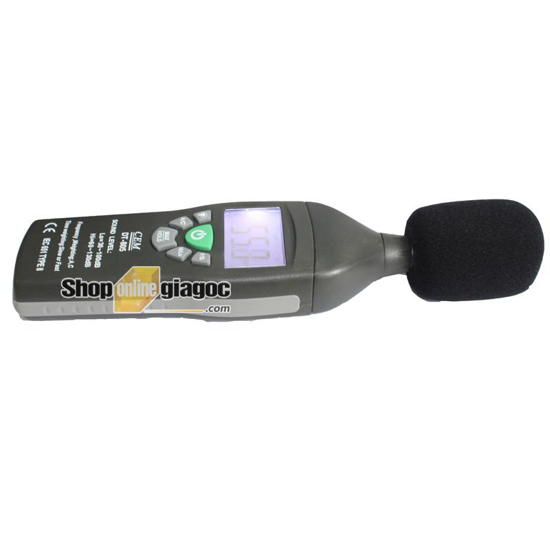 Máy đo độ ồn âm thanh CEM DT-805