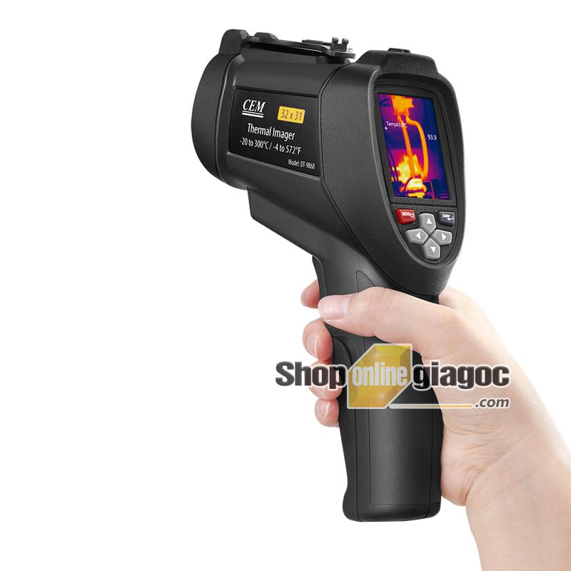 Máy đo nhiệt kế hồng ngoại CEM DT-9868