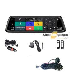 Camera Hành Trình Cảm Ứng 10 In Androi X1 4G Phát Wifi, Có GPS Dẫn Đường Hiển Thị Tốc Độ, Quản Lý Xe Từ Xa