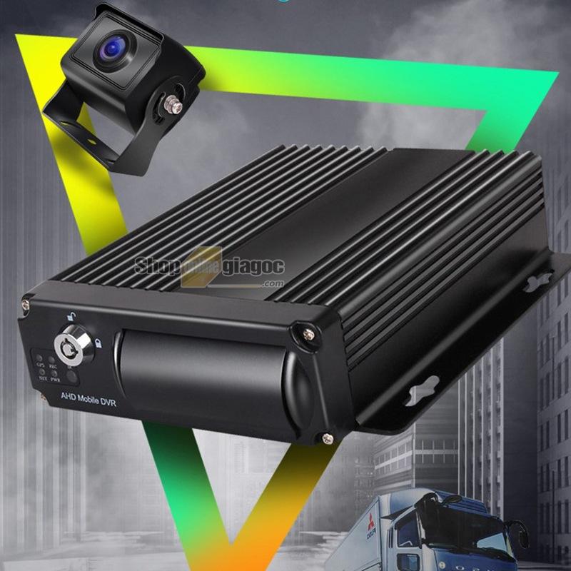 Combo 4 Camera Hành Trình Xe Tải + Thẻ Nhớ 128GB (Gắn Sim Mạng 4G, Theo Dõi Từ Xa)