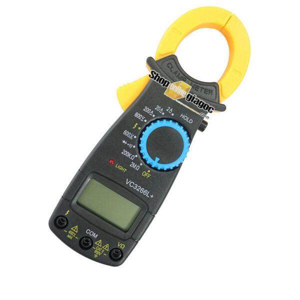 Ampe Kế Cầm Tay Kẹp Vạn Năng Kỹ Thuật Số Kẹp Mét VC3266L+
