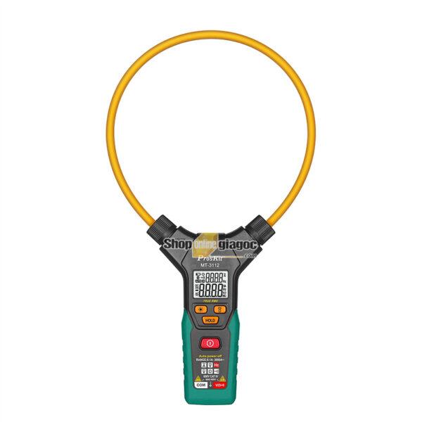 Ampe kìm dòng điện tử TrueRMS Pro'skit MT-3112