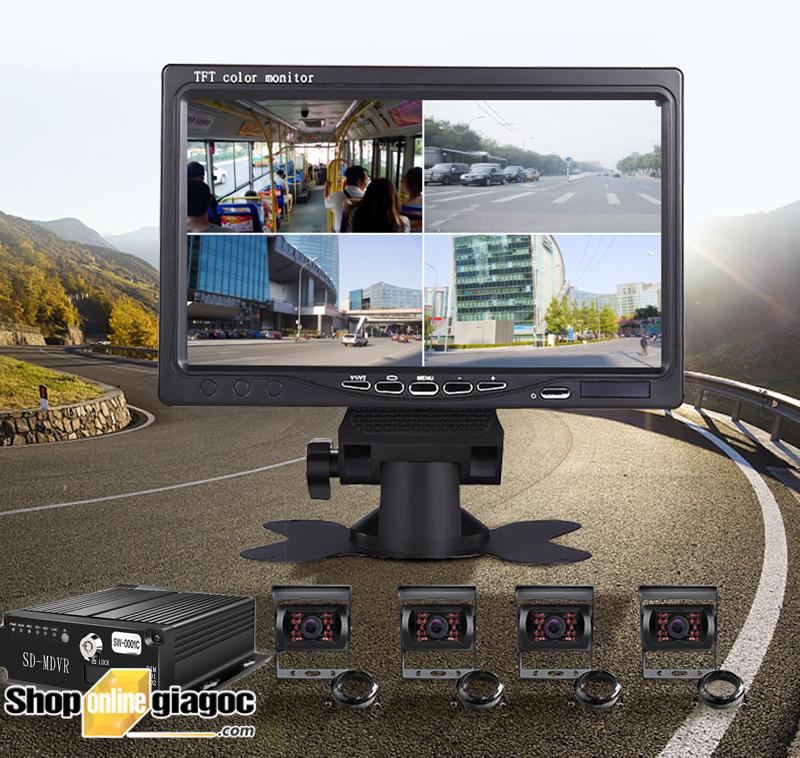 Combo 4 camera hành trình xe tải OC474G