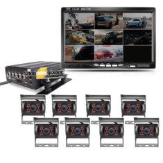 Combo 8 camera hành trình xe tải oc87
