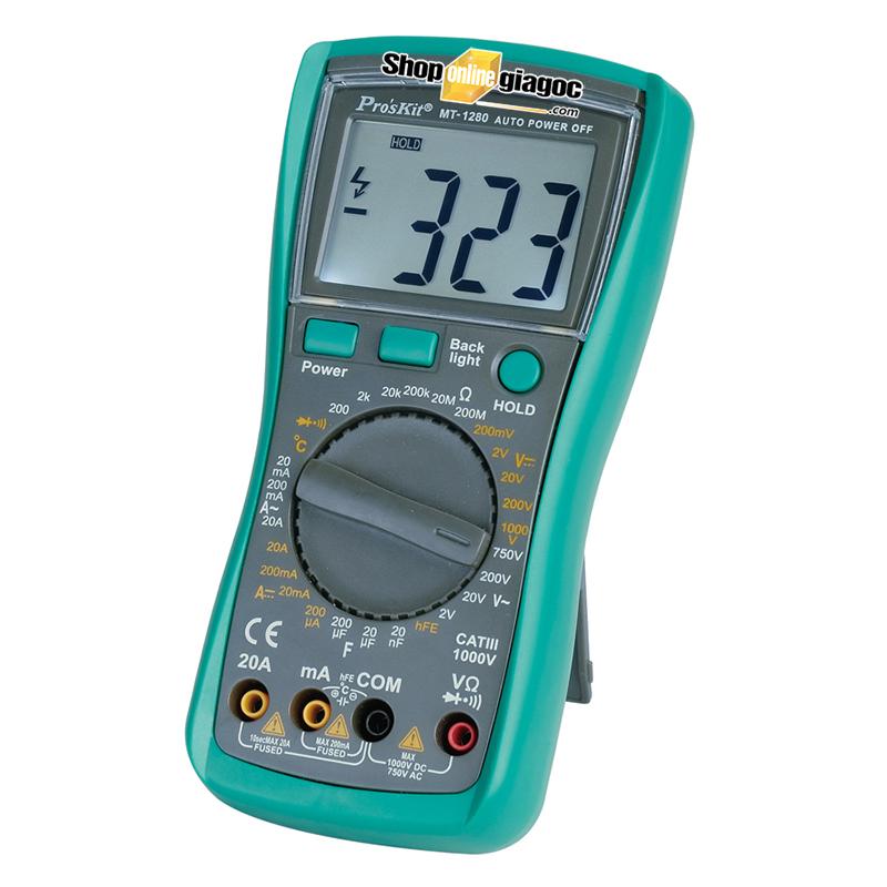 Đồng hồ vạn năng Proskit MT-1280