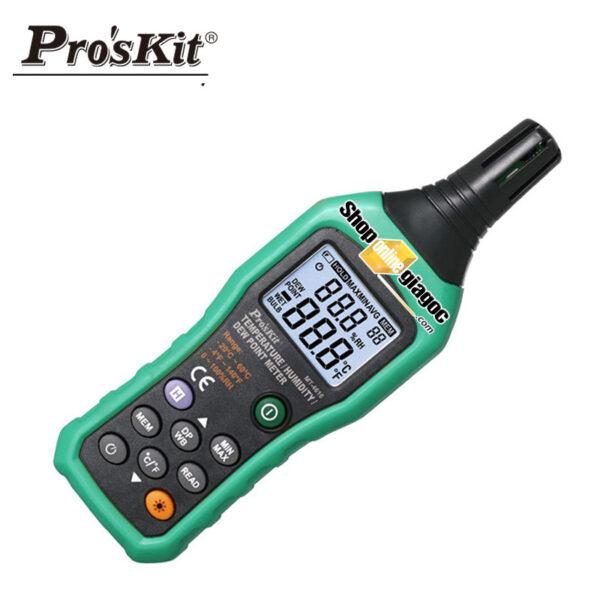 Thiết bị đo nhiệt độ và độ ẩm proskut MT-4616