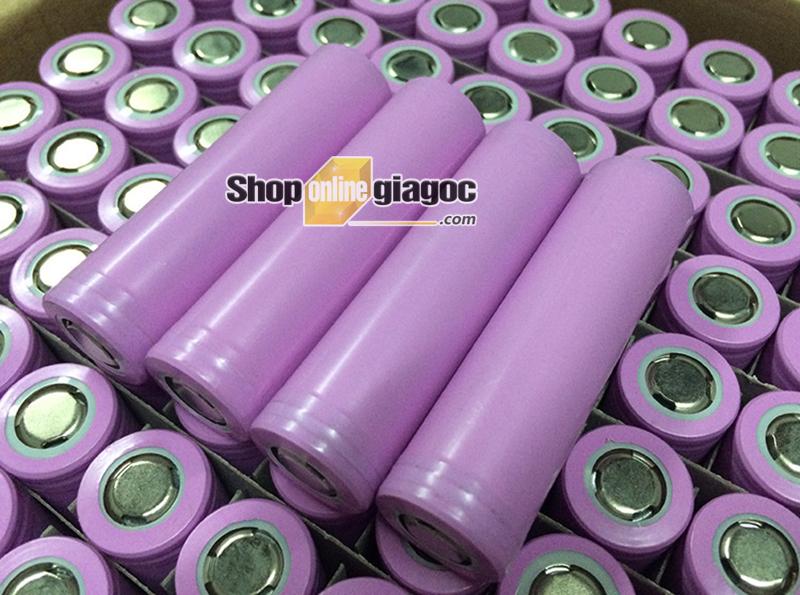 Cell Pin ICR 18650 2000mAh 2A - shoponlinegiagoc