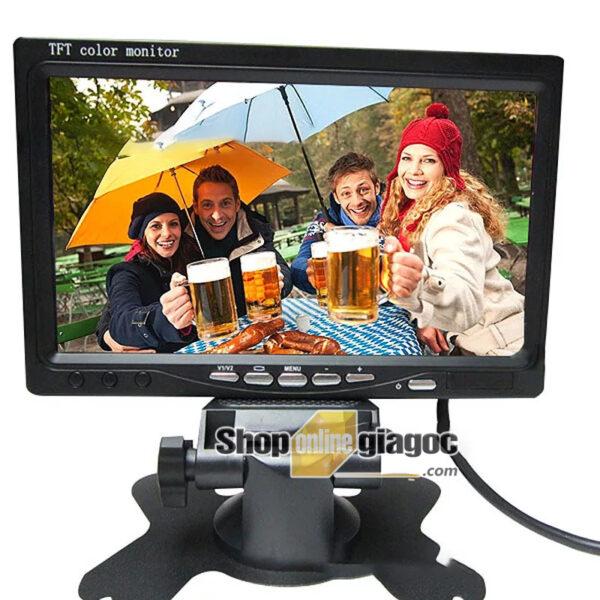 Màn Hình LCD Ô Tô 7 Inch 800×480 HD 2 Cổng AV, 12-36V - shoponlinegiagoc