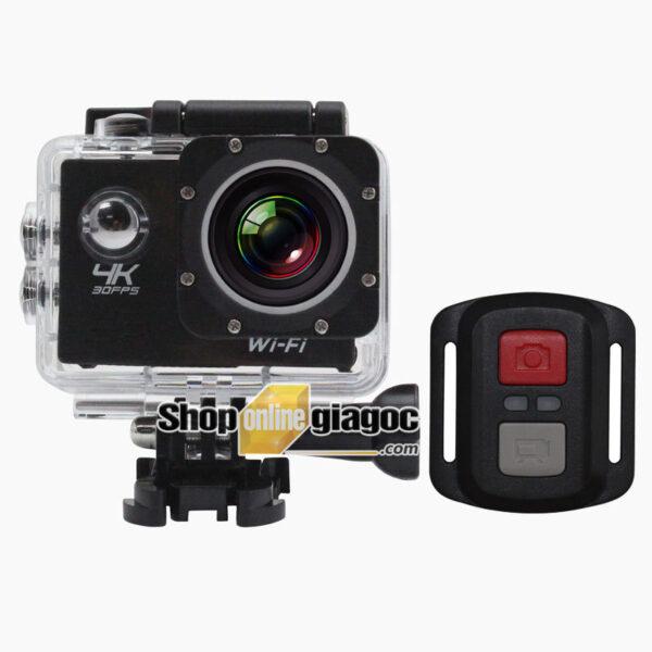 Camera Hành Trình Xe Máy 4K F65B (Chống Nước, Điều Khiển Từ Xa)