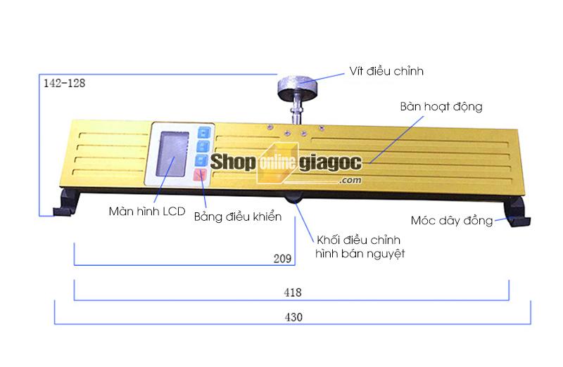 Máy Đo Lực Căng Dây Thang Máy DGZ-1000N