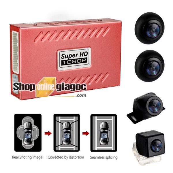 Camera 360 Độ Ô Tô 2D Siêu Nét