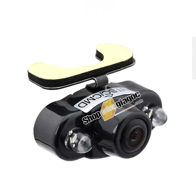Camera Lùi HD Mắt Ếch Quay Đêm Siêu Nét 170 Độ 2 LED